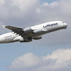 Lufthansa avião