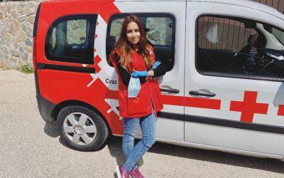 Bárbara, colabora en Cruz Roja durante la crisis del Covid-19