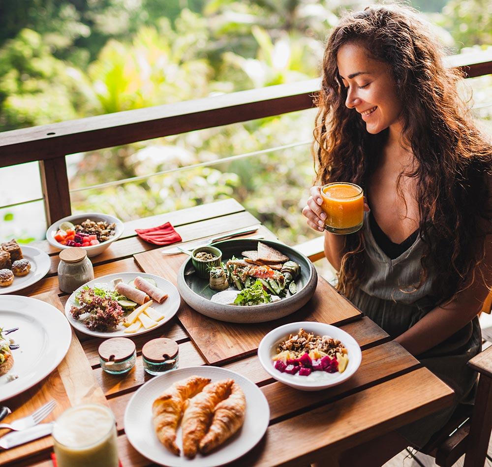 Frühstück im Urlaub