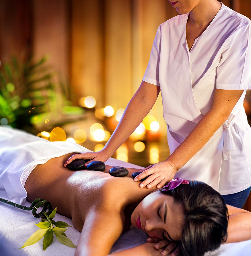 woman wellness massage